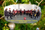 2019-12-14 Carol Playing At The Meadows, Shopping Centre, Camberley